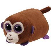 Teeny Tys Monkey Boo - barna majom plüss figura (10 cm)