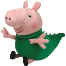 Beanie Babies Peppa malac - ZSOLI DINÓ JELMEZBEN plüss figura 15 cm
