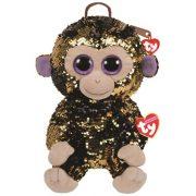 Ty Fashion Sequins flitteres majom hátizsák - Coconut (25 cm)