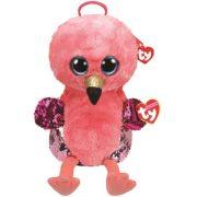 Ty Fashion Sequins flitteres flamingó hátizsák - Gilda (25 cm)