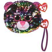 Ty Fashion Sequins flitteres leopárd csuklótáska - Dotty (10 cm)