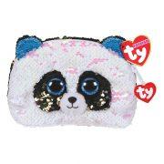 Ty Fashion Sequins flitteres pandás neszesszer - Bamboo panda (13 cm)