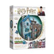 Wrebbit 3D puzzle Harry Potter - Ollivander pálcaboltja, penna- és tintabolt (295db-os)