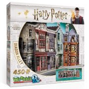 Wrebbit 3D puzzle Harry Potter - Abszol-út (450 db-os)