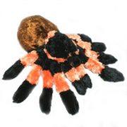 Tarantula plüss figura 30 cm