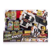 X-Shot Zombie Xcess Forgótáras szivacs- és koronglövő játékpisztoly szett