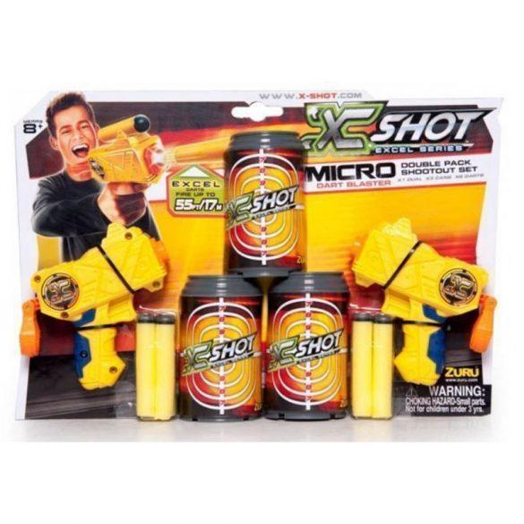 X-Shot Dupla mini pisztoly