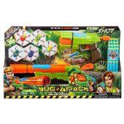 X-Shot Bogártámadás Duplacsövű játékfegyver és gyorstüzelő játékpisztoly szett