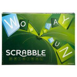 Scrabble Original társasjáték (Angol nyelvű) + ajándék bögre