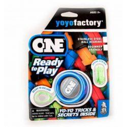 YoYoFactory ONE yo-yo díszcsomagolással (KÉK)