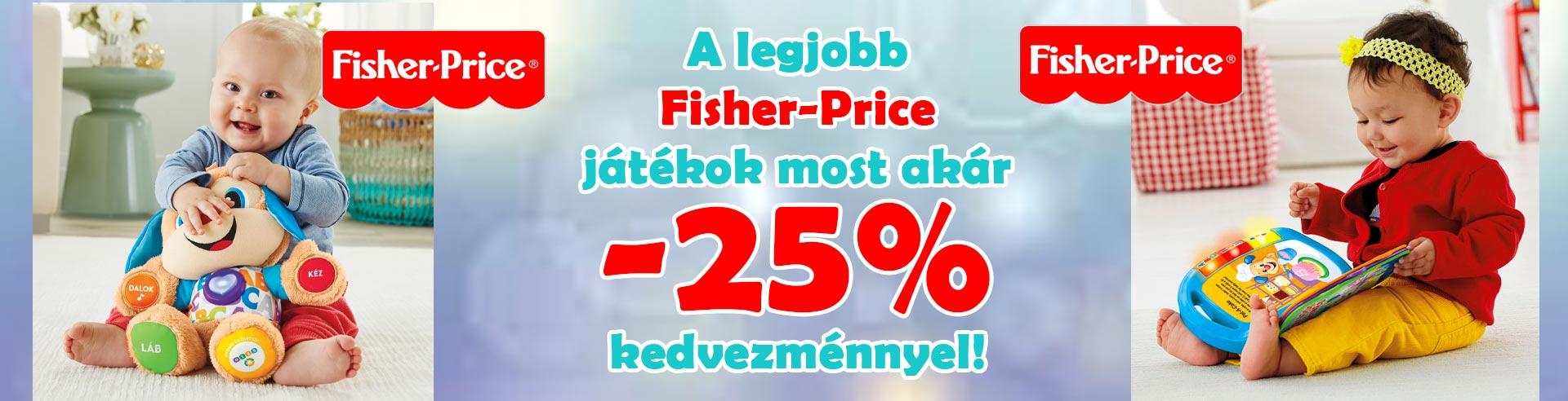 Fisher-Price játék akció