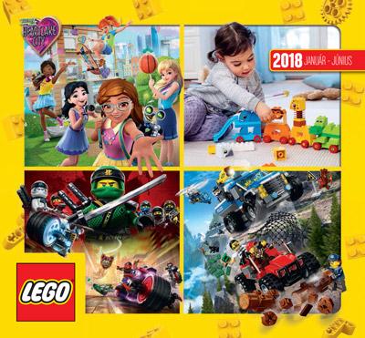 LEGO® katalógus 2018 I. félév | Bűbáj Webjátékbolt