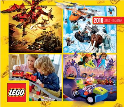 LEGO katalógus 2018 II. félév