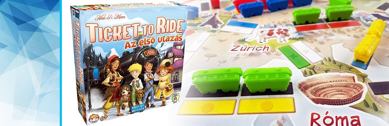 Ticket to Ride társasjáték a Bűbáj Webjátékbolt játék webáruházban