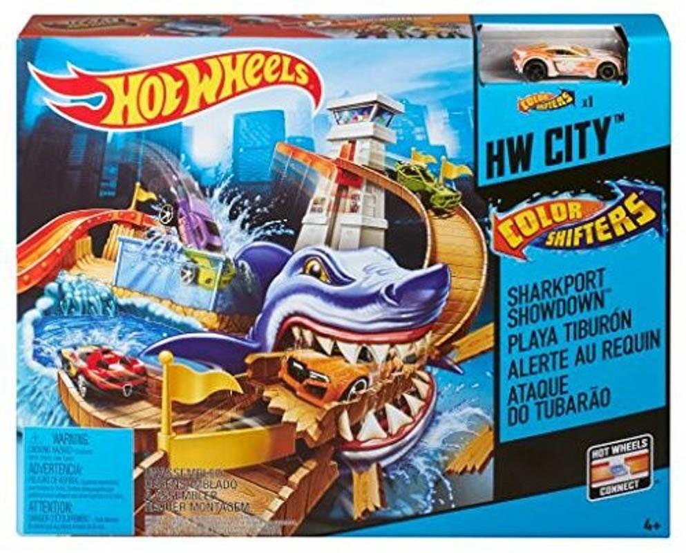 Hot Wheels Színváltós Cápatámadás pálya
