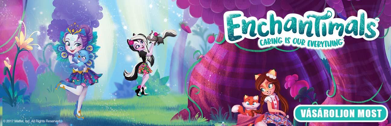 Bűbáj játék webáruház, játék vásárlás 1 perc alatt! - EnchanTimals figurák a MATTEL-től -