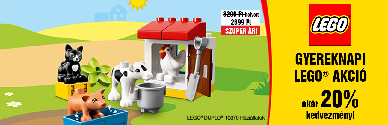 Gyereknapi LEGO akció!